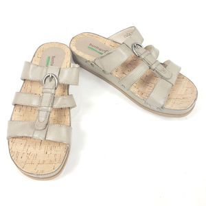 Baretraps Cella Slip On Sandals Memory Foam Sz 8.5